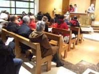 Messe à Sainte Colette des Buttes Chaumont